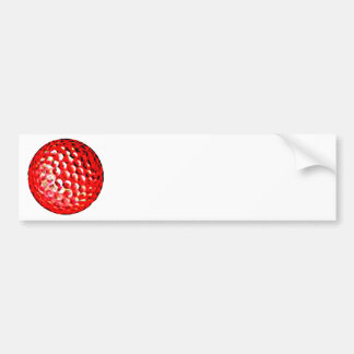 El golf ball1 del jGibney de la serie del artista  Pegatina Para Coche