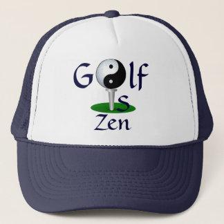 """El """"golf es gorra del zen"""""""