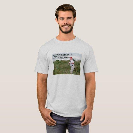 El Golfing del triunfo Camiseta