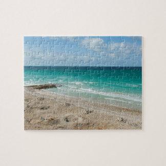 El golfo de Adén, playa, isla de Socotra, Yemen Puzzle