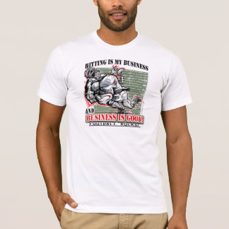 El golpe es mi camiseta del fútbol del negocio