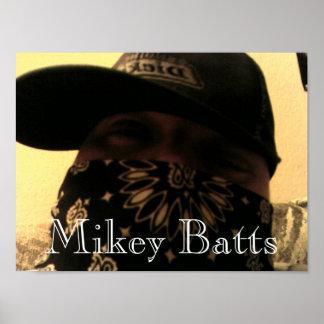El golpeador Mikey de Las Vegas golpea Impresiones
