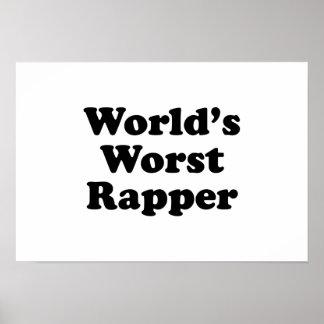 El golpeador peor del mundo posters