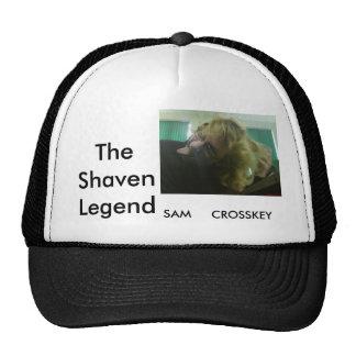 El gorra afeitado de la leyenda