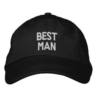 El gorra ajustable personalizado el MEJOR HOMBRE