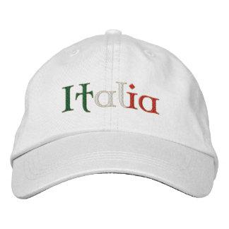 El gorra de las señoras Italia para Calcio aviva