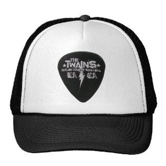 ¡El gorra del camionero de la imagen de la guitarr
