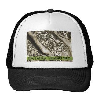 El gorra del camionero de los árboles del verano