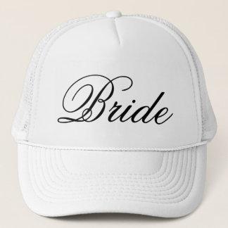 El gorra del camionero del boda de la novia