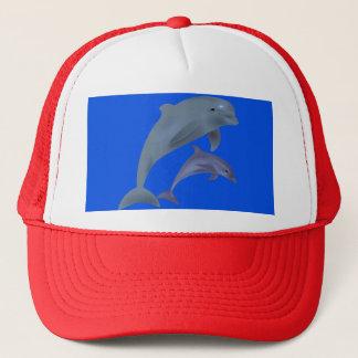 El gorra del camionero del delfín