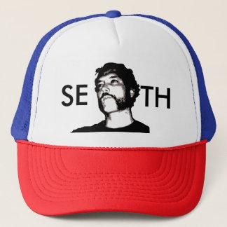 El gorra del camionero del escondite del camionero