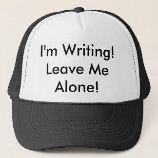 """El gorra del camionero: ¡""""Estoy escribiendo!"""