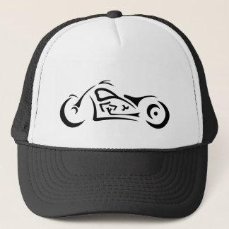 El gorra del camionero tribal abstracto de la