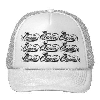 El gorra del camionero unisex de la reina