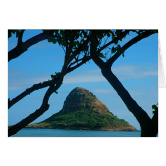 El gorra del Chinaman, Oahu Tarjeta