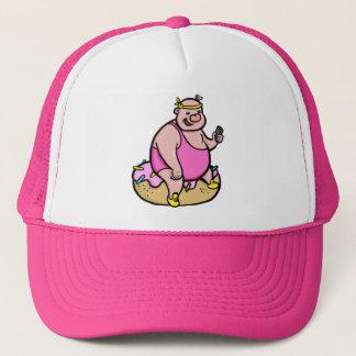 El gorra del funcionario del cacho