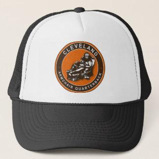 El gorra del fútbol de la butaca QB Cleveland