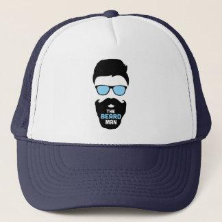 El gorra del hombre de la barba