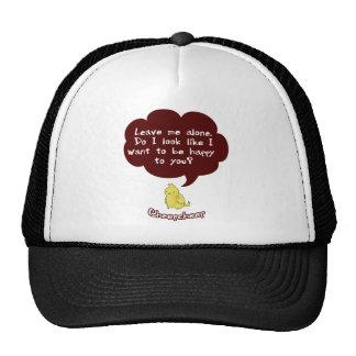 El gorra gruñón de Cheepcheep