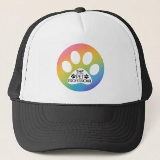 El gorra profesional del camionero del mascota