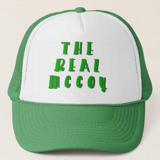 El gorra real del camionero de McCoy