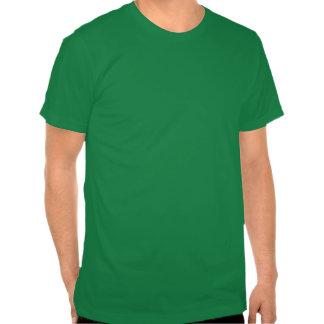 EL gótico Gordo T del verde Camisetas