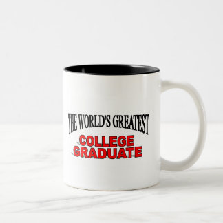 El graduado más grande de la universidad del mundo taza de café