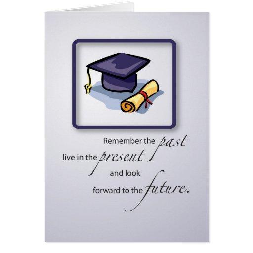 Tarjetas De Felicitacion Para Un Graduado   MEJOR CONJUNTO DE FRASES