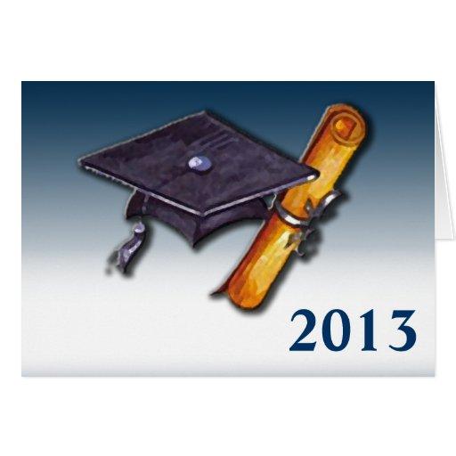 El graduado felicitación