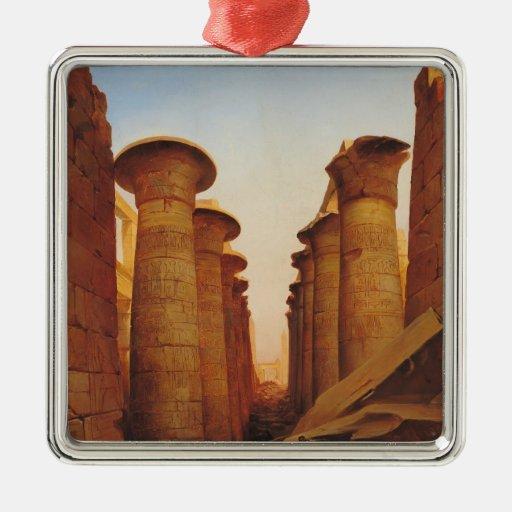 El gran templo de Amun en Karnak Ornamento Para Reyes Magos