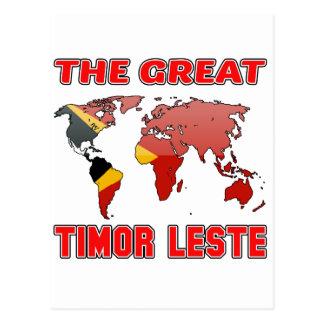 El gran TIMOR ORIENTAL. Postal