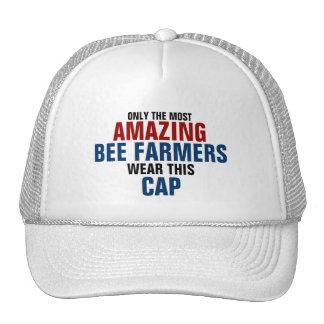 El granjero más asombroso de la abeja del mundo gorros