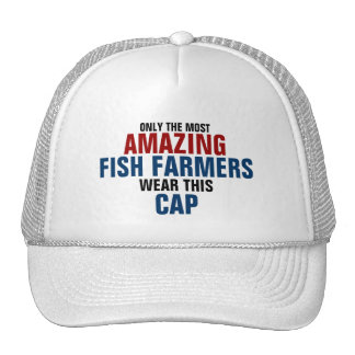 El granjero más asombroso de los pescados del mund gorra