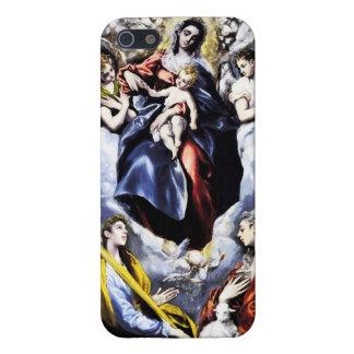 El Greco caso del iPhone 5 de la Virgen y del niño iPhone 5 Funda