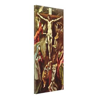 El Greco - Cristo en la cruz Impresiones En Lona