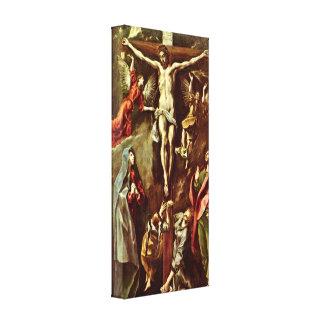 El Greco - Cristo en la cruz Impresiones De Lienzo