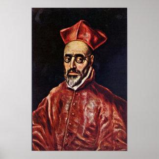 El Greco - Don Fernando Nino de Guevara Póster