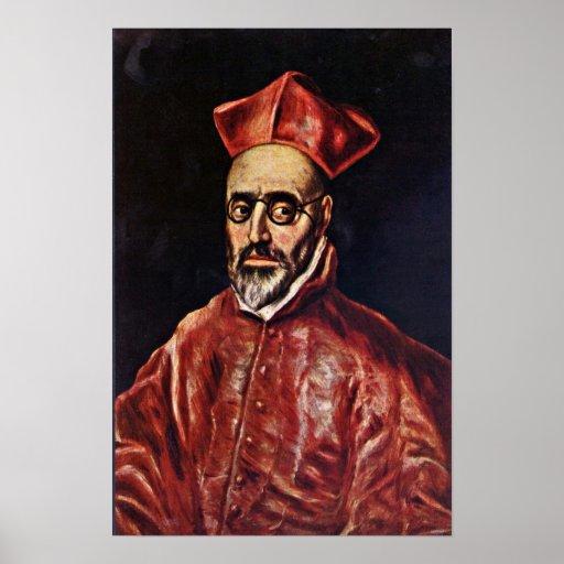 El Greco - Don Fernando Nino de Guevara Posters