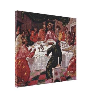 El Greco - la última cena Lona Estirada Galerias