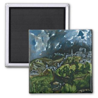 El Greco - vista de Toledo Imán Cuadrado
