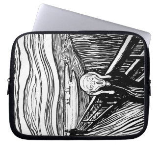 El grito de Edvard Munch Funda Para Ordenador