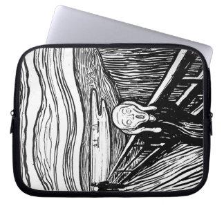 El grito de Edvard Munch Manga Portátil