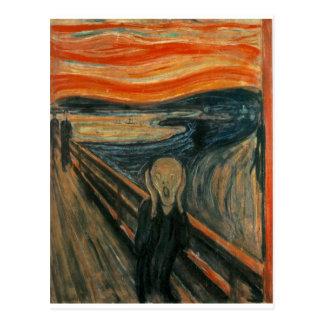 El grito - Edvard Munch 1893 Postal