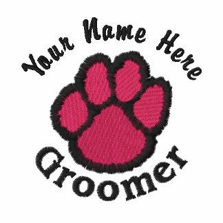 El Groomer bordado personalizable del perro junta