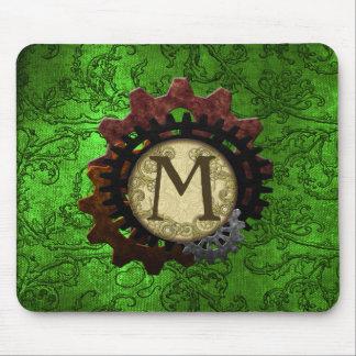 El Grunge Steampunk adapta la letra M del Alfombrilla De Ratón