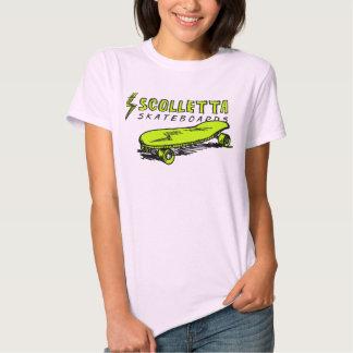 El Grunge T 002 de las mujeres de Scolletta Camisetas