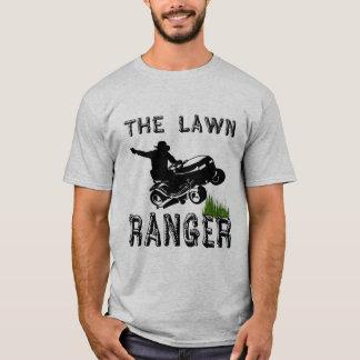 El guardabosques del césped camiseta
