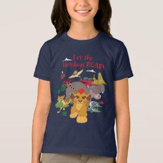El guardia del león el | dejó el rugido de los camiseta