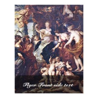 El Gückseligkeit la regencia de Marie De Medici Folleto 21,6 X 28 Cm