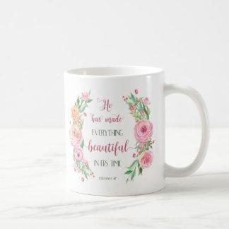 Él ha hecho todo el 3:11 hermoso de Ecclesiastes Taza De Café